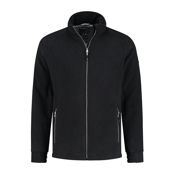 Kjelvik Scandinavian Clothing - Men Polarfleece Fjord Black