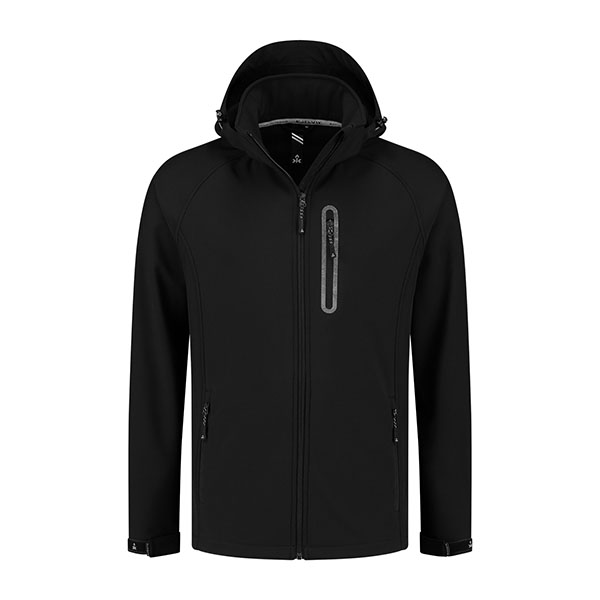 Kjelvik Scandinavian Clothing - Men Softshell Kevan Black