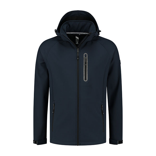 Kjelvik Scandinavian Clothing - Men Softshell Kevan Navy