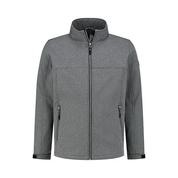 Kjelvik Scandinavian Clothing - Men Softshell Odense Ash grey