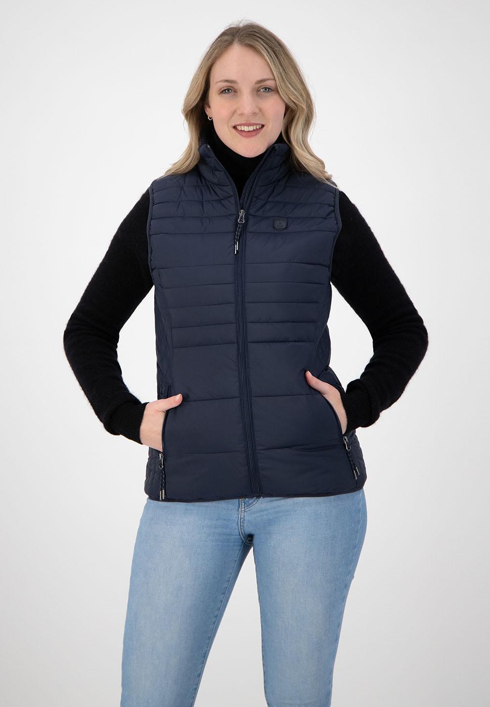 Kjelvik Scandinavian Clothing - Women Bodywarmers Denise Navy