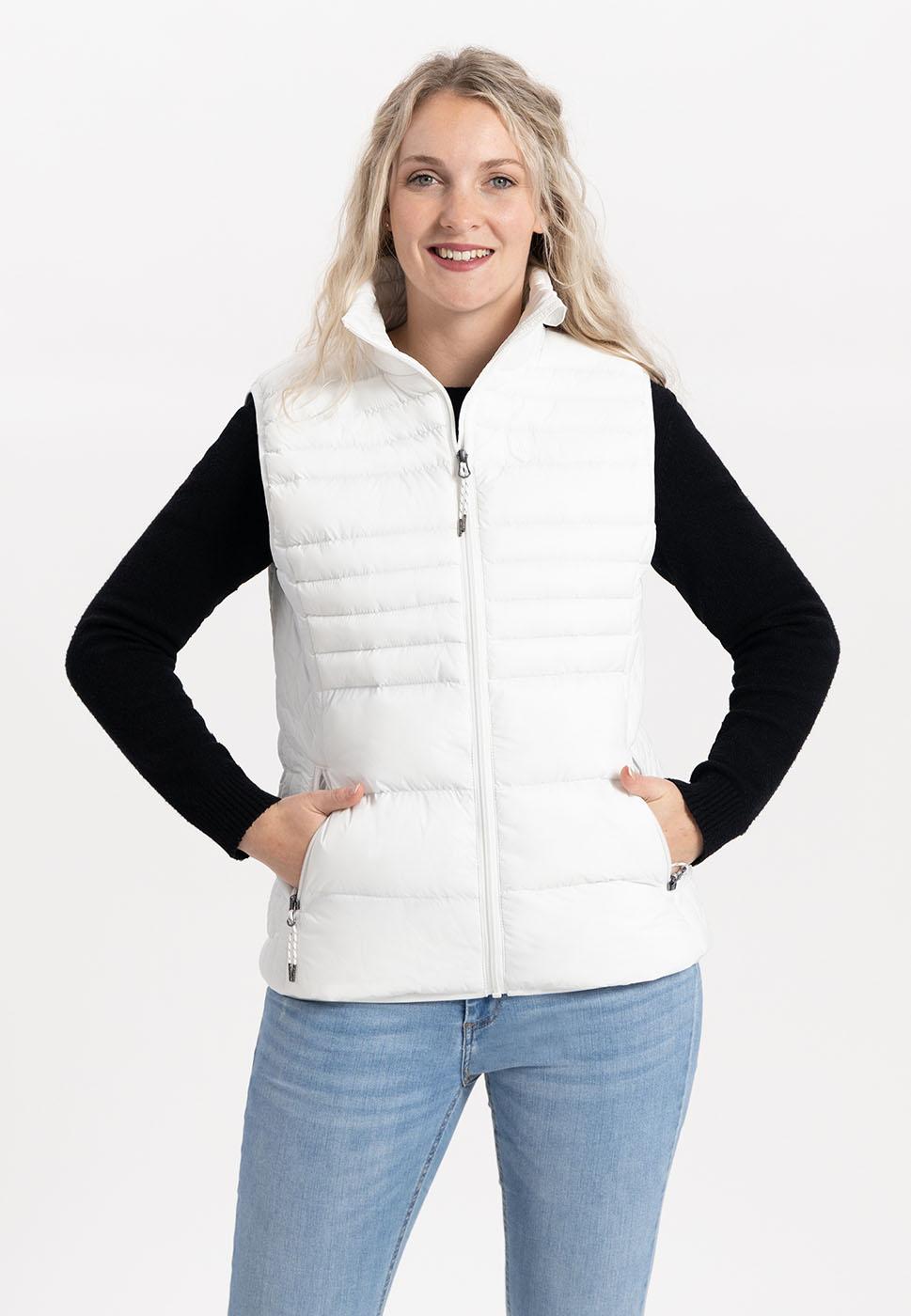 Kjelvik Scandinavian Clothing - Women Bodywarmers Denise White