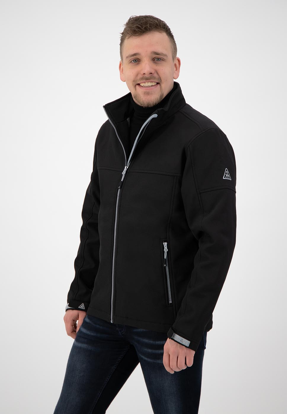 Kjelvik Scandinavian Clothing - Men Softshell Odense Black