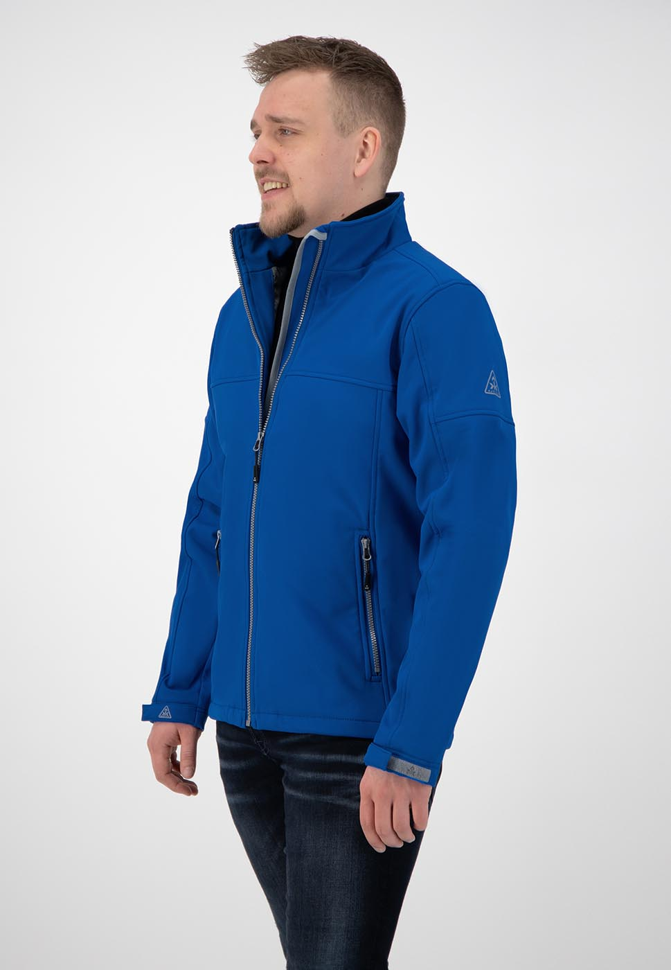 Kjelvik Scandinavian Clothing - Men Softshell Odense Classic blue