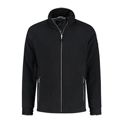 Kjelvik Scandinavian Clothing - Men Polar fleece Fjord Black