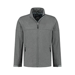 Kjelvik Scandinavian Clothing - Men Softshell Odense Ash grey