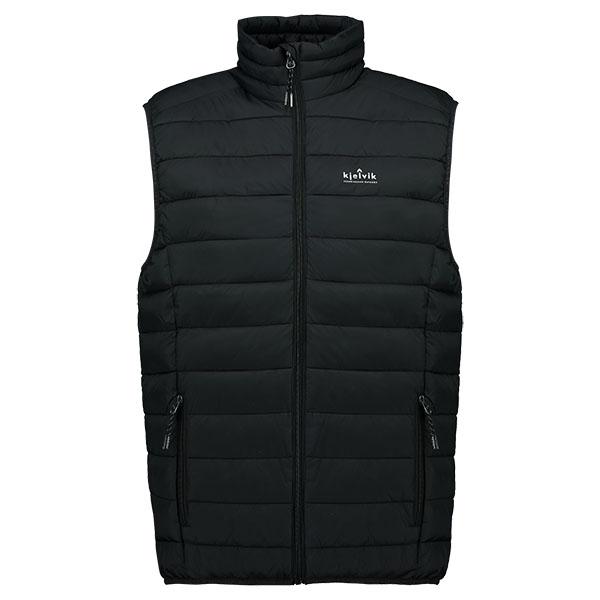 Kjelvik Scandinavian Clothing - Men Bodywarmers Haldor Black