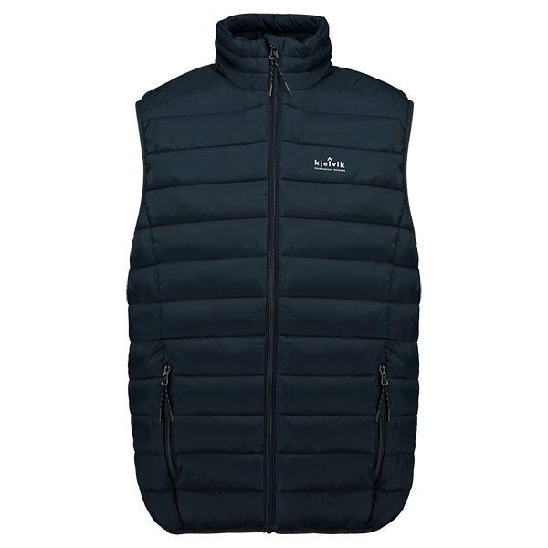Kjelvik Scandinavian Clothing - Men Bodywarmers Haldor Navy