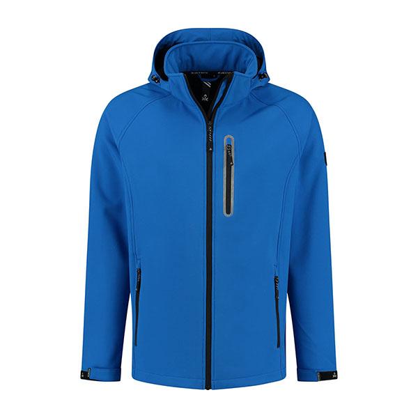 Kjelvik Scandinavian Clothing - Men Softshell Kevan Blue