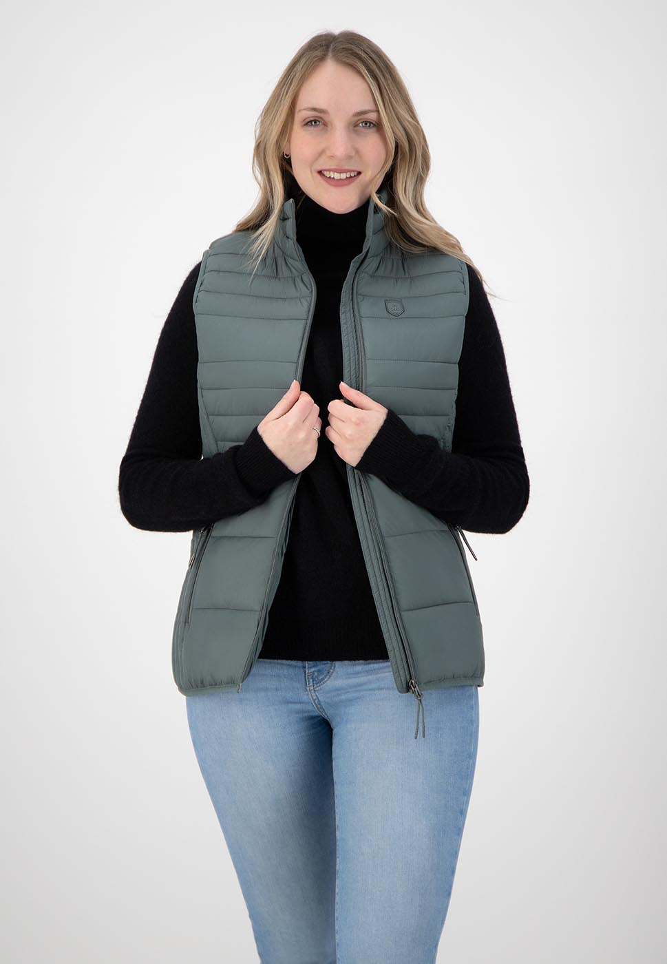 Kjelvik Scandinavian Clothing - Women Bodywarmers Denise Green