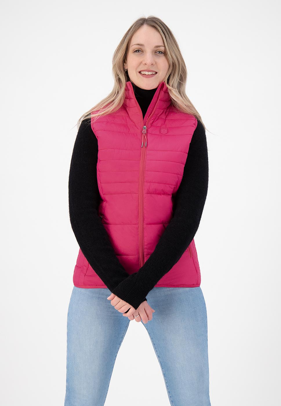 Kjelvik Scandinavian Clothing - Women Bodywarmers Denise Pink
