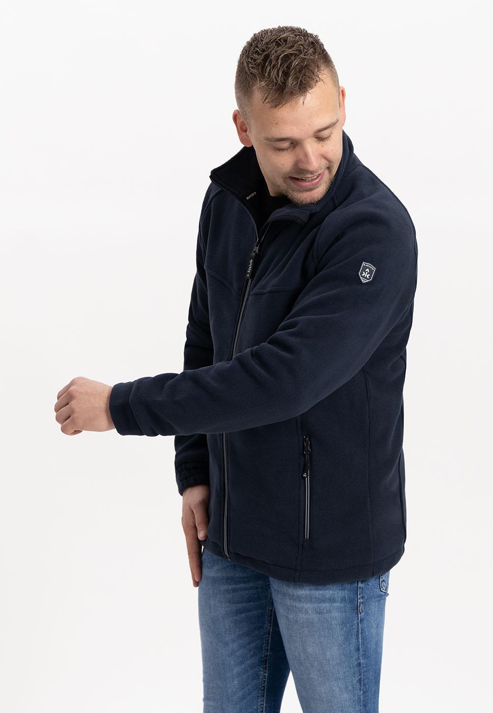 Kjelvik Scandinavian Clothing - Men Knitwear/Fleece Fjord Navy