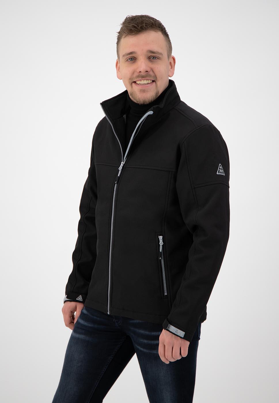 Kjelvik Scandinavian Clothing - Men Softshell Odense Black