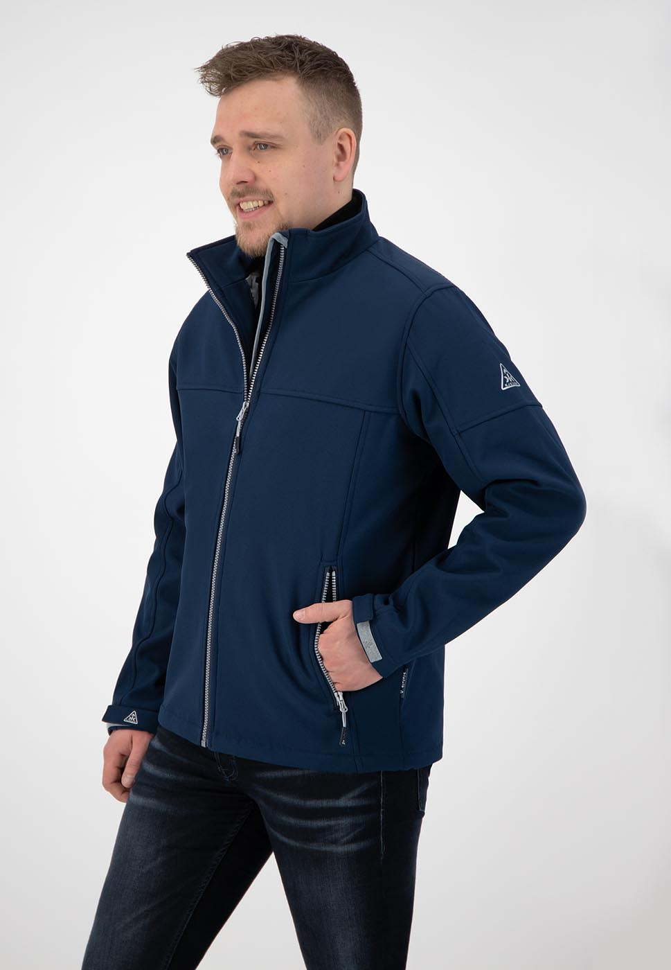 Kjelvik Scandinavian Clothing - Men Softshell Odense Navy