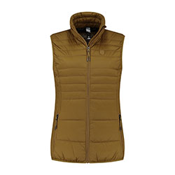 Kjelvik Scandinavian Clothing - Women Bodywarmers Denise Golden yellow