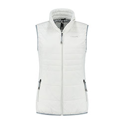 Kjelvik Scandinavian Clothing - Women Bodywarmers Denise White