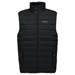 Kjelvik Scandinavian Clothing - Men Bodywarmers Haldor Black